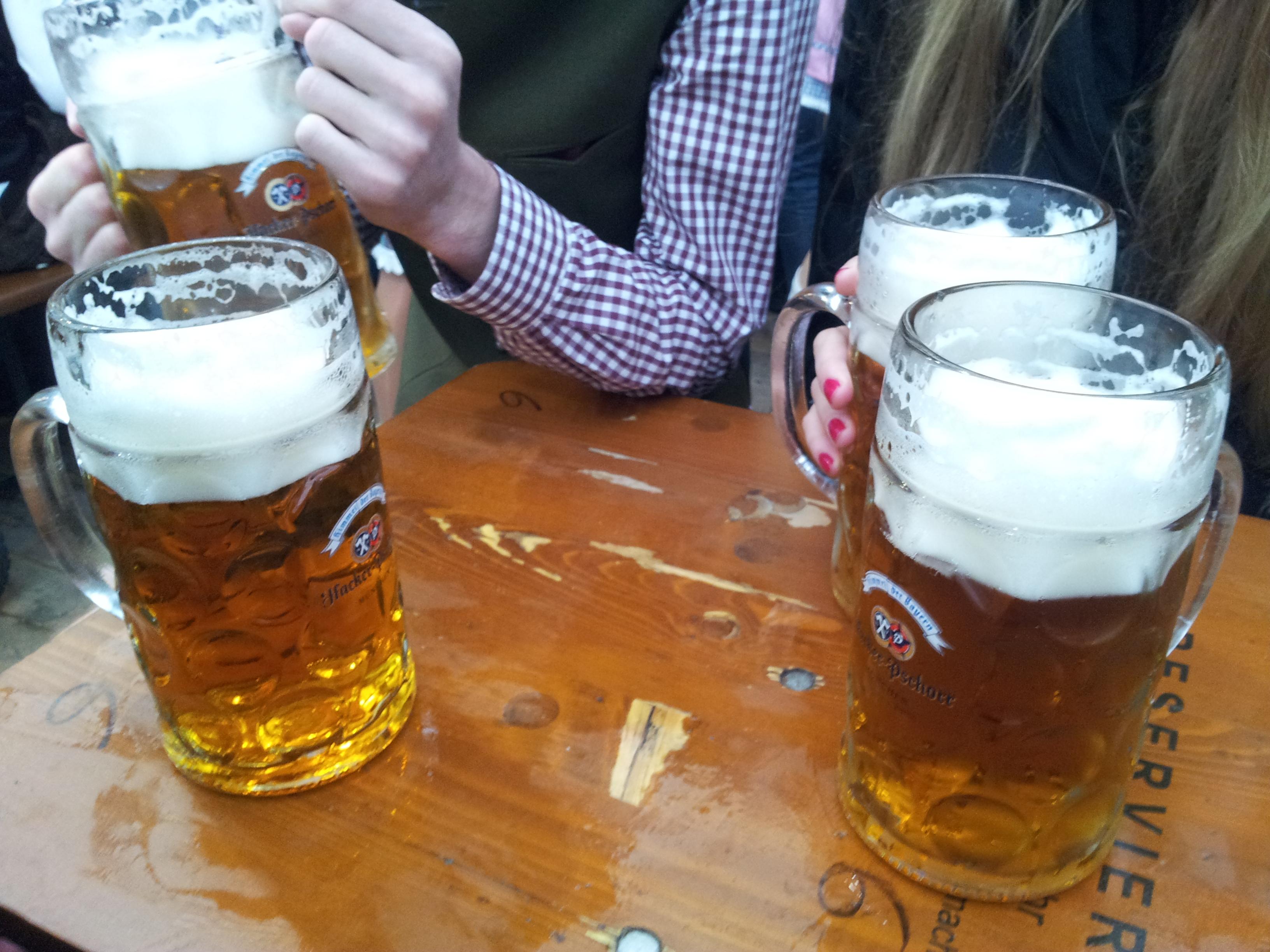 PIWO!!! To najważniejsza część Oktoberfest!